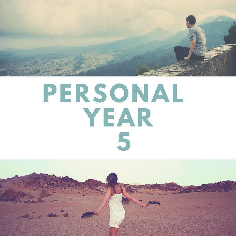 5 Personal Year | Felicia Bender