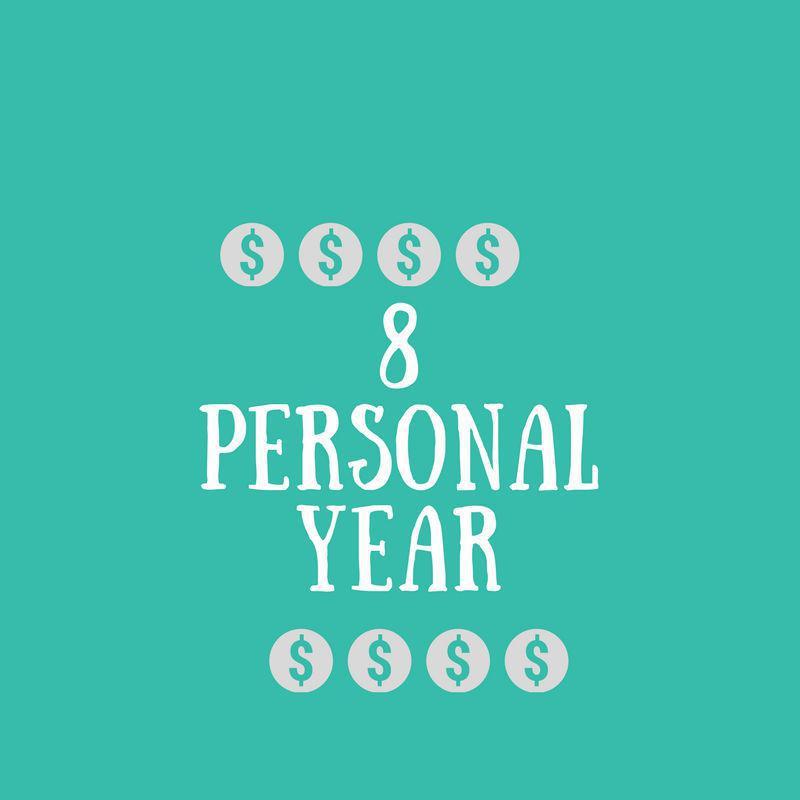 8 Personal Year | Felicia Bender