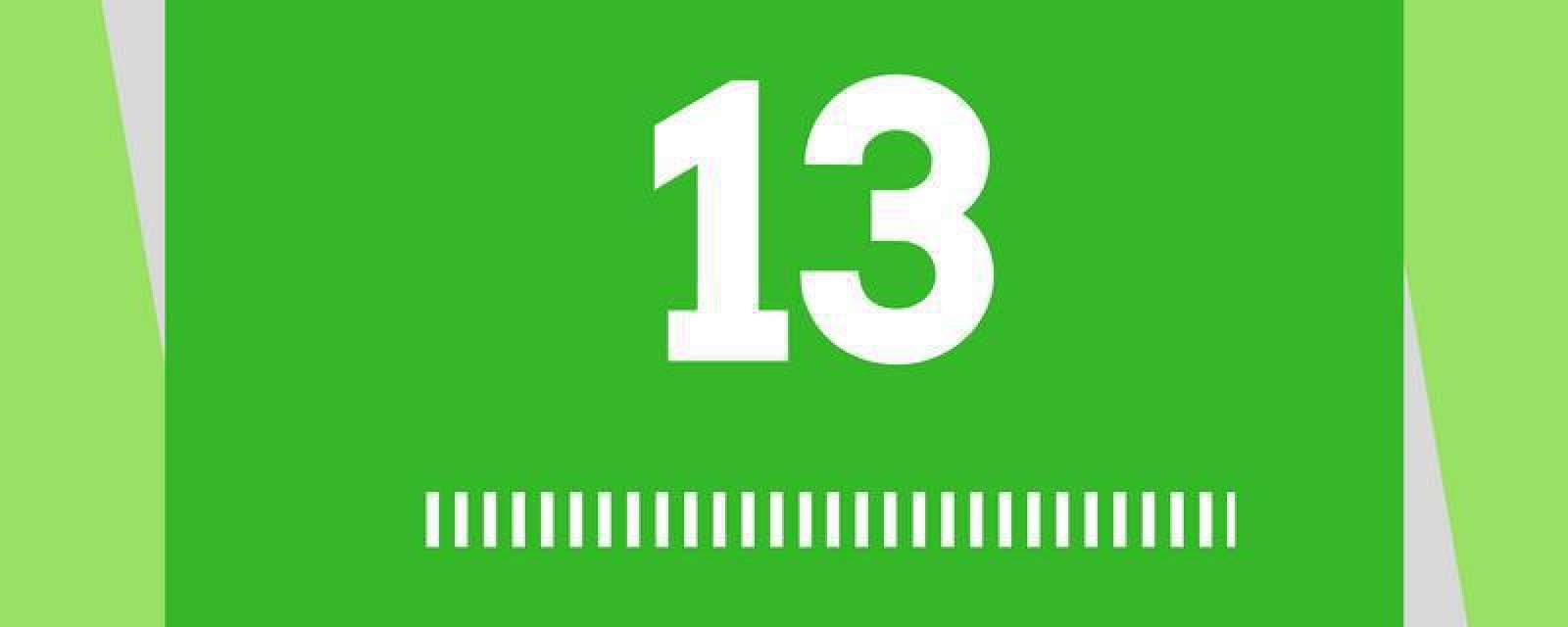 The Meaning of 13